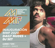 Event grid af poster a3 con evento individual mmf20 daily nudes