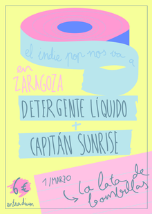 Event cartel zaragoza