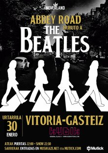 Event cartell a3 abbey road vitoria