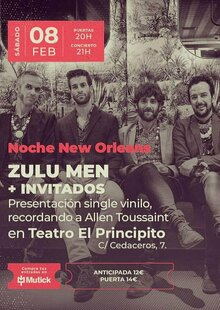 Event entradas zulu.men madrid