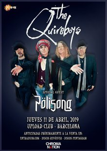 The Quireboys · Pölisong - Barcelona 2019