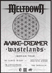 IBERIAN TOUR: MELTDOWN + ATD + WASTELANDS (Codines)