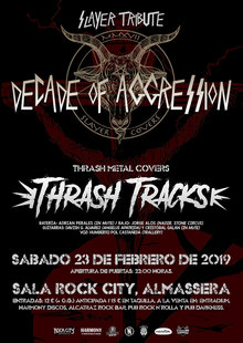 Decade Of Aggression (SLAYER TRIBUTE) + Thrash Tracks (THRASH METAL COVERS)