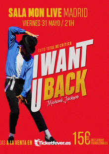 Event i want u back tributo michael jackson madrid