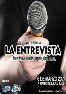 Event cartel entrevista