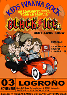KIDS WANNA ROCK (BLACK ICE LOGROÑO)