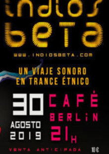 Event indios beta cafe berlin madrid 604x270  1