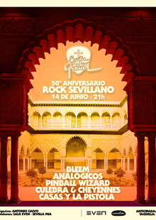50th ANIVERSARIO del ROCK SEVILLANO