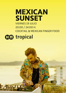 Event 19.07 mex sunset tropical