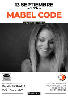 Event 13sept mabel code