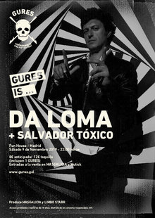 DA LOMA + Salvador Tóxico en Madrid | Gures is on tour - Fun House