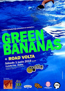 GREEN BANANAS EN MADRID