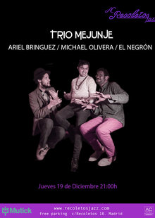 AC Recoletos Jazz: Trio Mejunje en Madrid