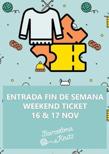 Event entrada fds barcelona knits