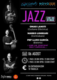 "JAZZ ""LIVE ON STAGE"" Lanuti, Lohikari, Garcia + ""Secret Special Guests"""