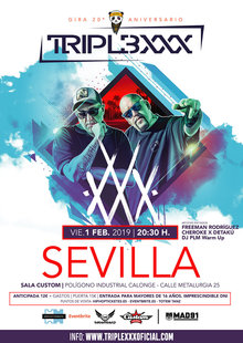 Event triple xxx cartel sevilla custom 1506x10cartel web