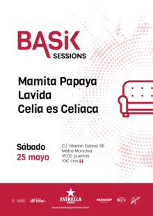 Basik Sessions 25 Mayo