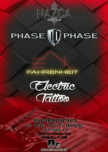 Event phase ii phase   fahrenheit   electric tattoo
