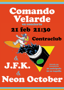 Event cartel contraclub feb 2020