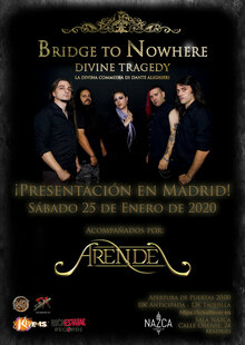 "Bridge to Nowhere. Presentan en directo de ""Divine Tragedy"""