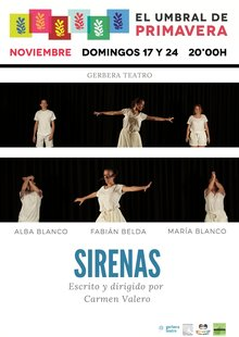 Event cartel sirenas nov