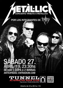 Event tributo a metallica ivor entradium