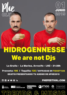 Phe Club #3 // Hidrogenesse + We are not djs