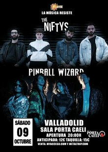The Niftys + Pinball Wizard en Valladolid