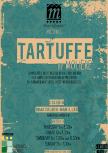 The Madrid Players presents TARTUFFE by Molière (versión en inglés)