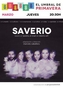 Event cartel saverio