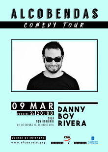 DANNY BOY RIVERA - ALCOBENDAS COMEDY TOUR