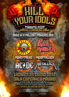 KILL YOUR IDOLS - Tributo a AC/DC, Metallica, Guns, Iron Maiden