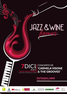 Event jazz wineflavours cartel rrss 2