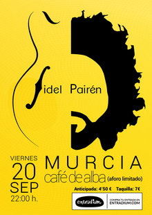 Event cartel cafe de alba sep 2019