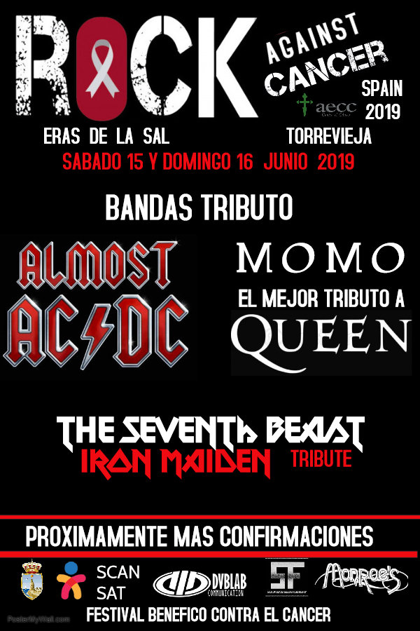 ROCK AGAINST CANCER 2019 en Entradium