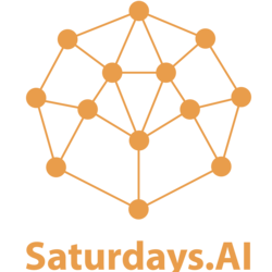 Large saturdaysai logo