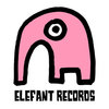 Medium logo elefant rosa