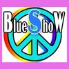 Medium blue show logo